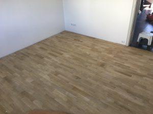 fertig geschliffener Fußboden
